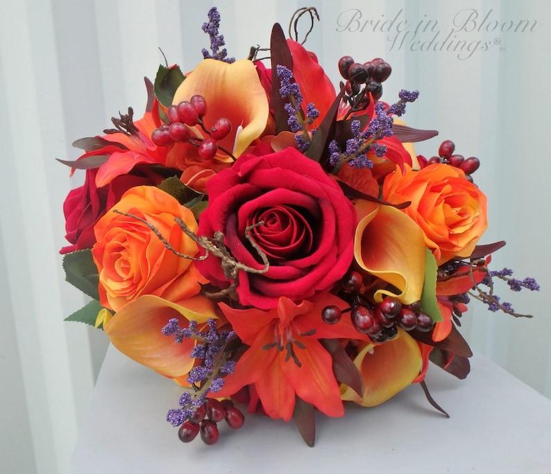 Prächtig Herbst Hochzeit Blumenstrauß Herbst Hochzeitsblumen | Etsy &XP_73