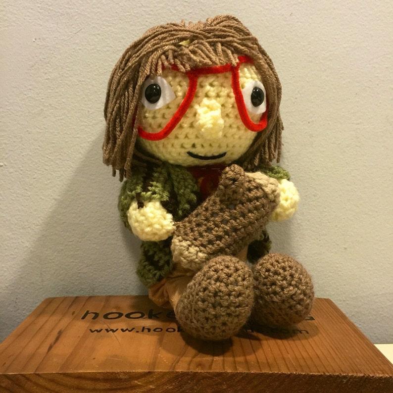Crochet Log Lady Twin Peaks
