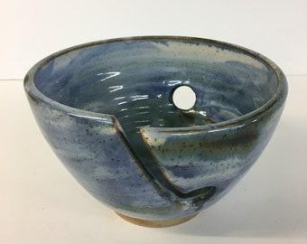 Small painted yarn bowl