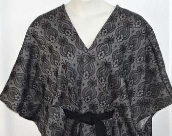 Shoulder Shirt Cape- Post Surgery Outerwear/ Shoulder- Mastectomy- Breast Cancer/ Special Needs/ Hospice/ Breastfeeding-Style Shandra