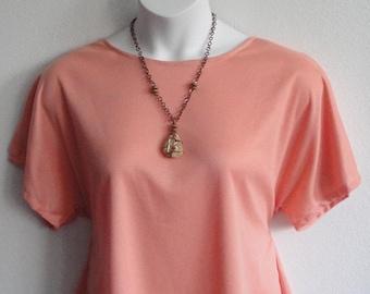 XS & S  Post Surgery Wickaway Shirt (Shoulder,  Breast Cancer, Mastectomy) / Adaptive Clothing / Hospice/ Rehab/ Breastfeeding -Style Tracie