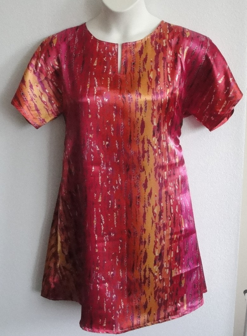 Style: Erin Breast Cancer Post Surgery Nightgown Shoulder Mastectomy  Hospital Gown  Adaptive Clothing  Rehab M /& XL