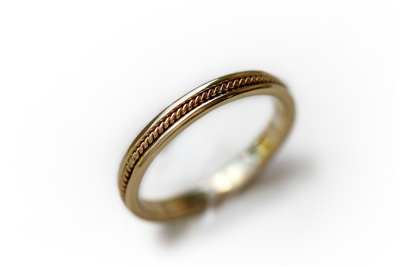 Male Wedding Bands.Wedding Ring For Men Twisted Wedding Band Male Wedding Bands Unique Classic Wedding Band Infinity Gold Wedding Ring For Him And Her
