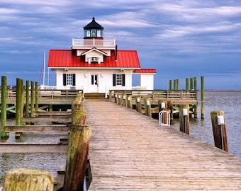 Roanoke Marshes Lighthouse,Lighthouse,North Carolina,NC,Outer Banks,OBX,Beach Decor,Wall Art,Home Decor,Elizabeth City,Vacation