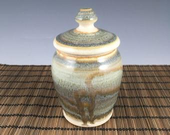 Handmade small urn, pet urn, keepsake urn,  Ready to ship