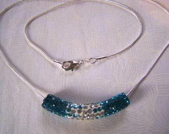 Crystal Slider Necklace