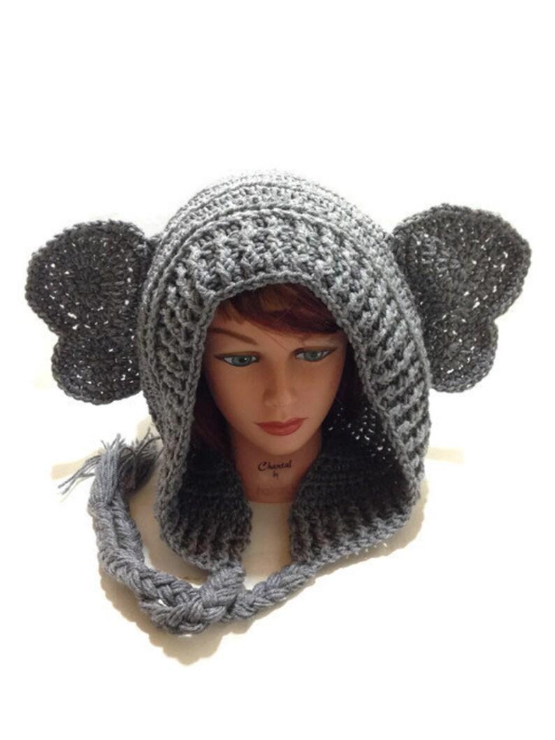 b893bca1a70 Elephant Hood Elephant Cosplay Elephant Hat Animal Hood