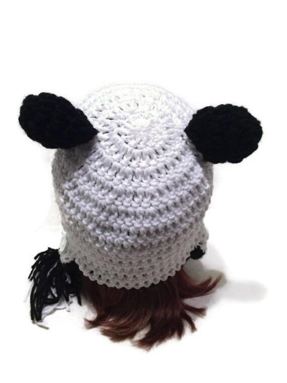 Máscara de cara de oso Panda Panda Hat y oído aleta invierno | Etsy