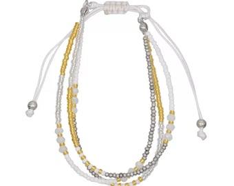 FRIENDSHIP BRACELET STACK - Beaded Bracelet Set - More Colors Available
