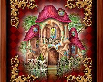 Wood Box - Lenormand House