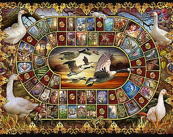 Reading Cloth - Lenormand  Game of Goose