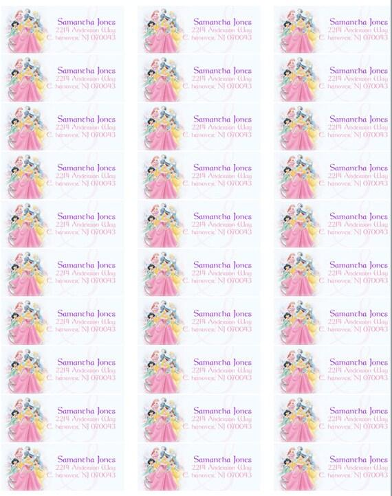 Prinzessin Zurückgeben Adress Etiketten Disney Princess Rückkehr Etiketten Diy Prinzessin Drucken Von Etiketten Cinderella Absenderadresse Label