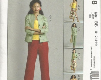 McCalls 4878 Misses Non-Stop Wardrobe Pattern SZ 8-14