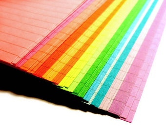 Lined Planner Paper, 18 or 54 Sheets