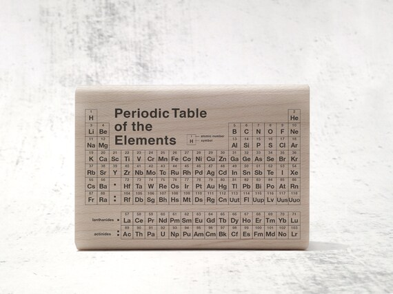 The periodic table of elements stamp teachers chemistry etsy image 0 urtaz Images