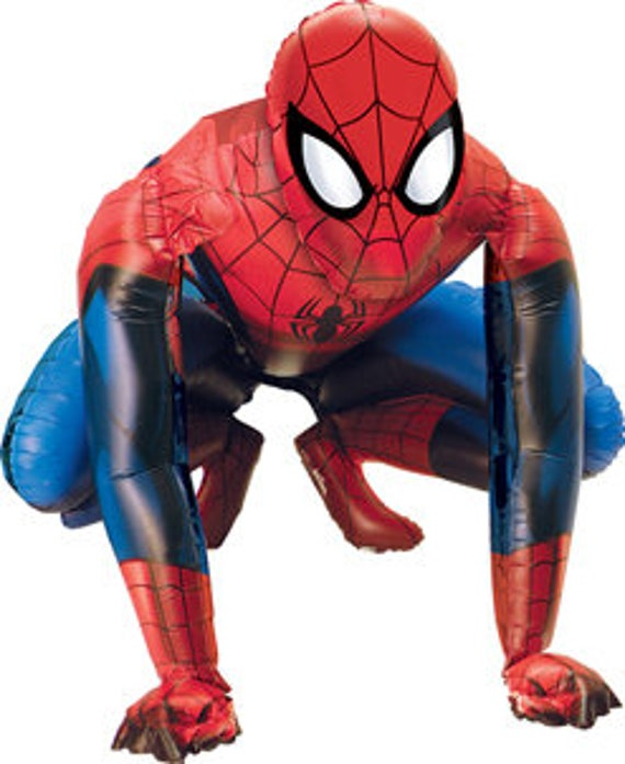 Qualatex//Anagram Spiderman Party Balloons Bundle Spiderman Party Supplies Spiderman Party Decorations Qualatex Brand