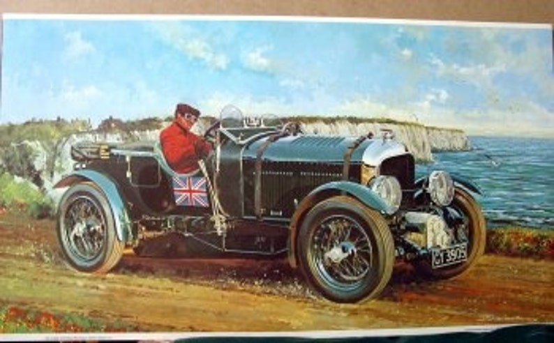 1930 Bentley Blower 4 5 Litre Supercharged British Sports Car Only 662 Made