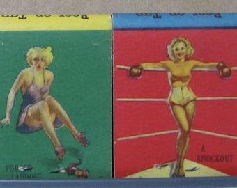 1940s Samuel Lockard Cafe Columbia PA Gil Elvgren Pinup Girlie Full Matchbooks
