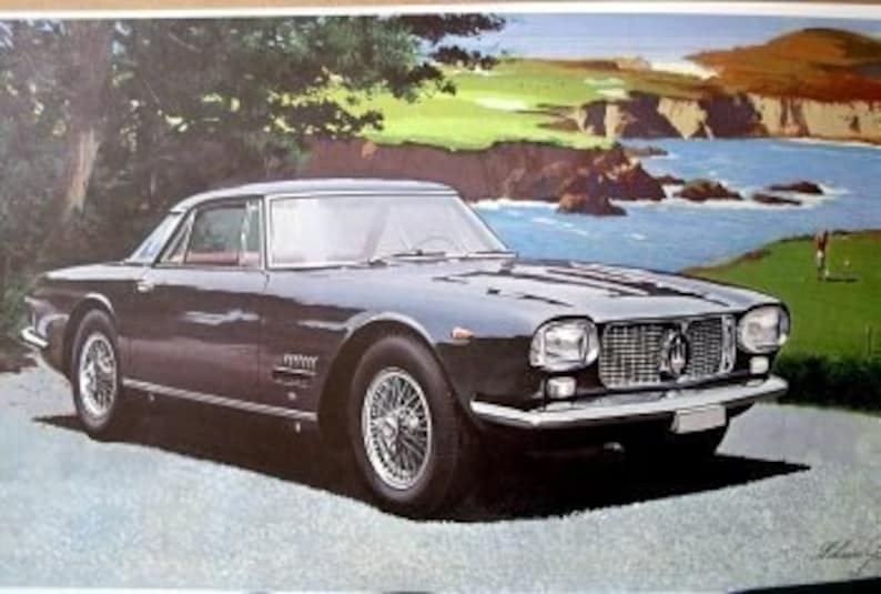 1957 maserati gt 3500 0-60 8.5 sec zf gearbox classic | etsy