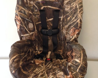 Max4 Advantage Camo Fabric Carseat Cover Duck Hunters Free Name Embroidery
