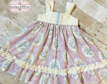 Girls Reverse Knot Dress Sweetness Collection Toddler Infant Girls