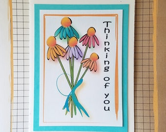 Encouragement Card - Support Card for Her - Thinking of You Card - Prayer Card - Friendship Card - Inspirational Card and Matching Envelope