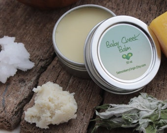 NEW - Baby Cheeks Balm - A soothing and mild arctic herbal mix