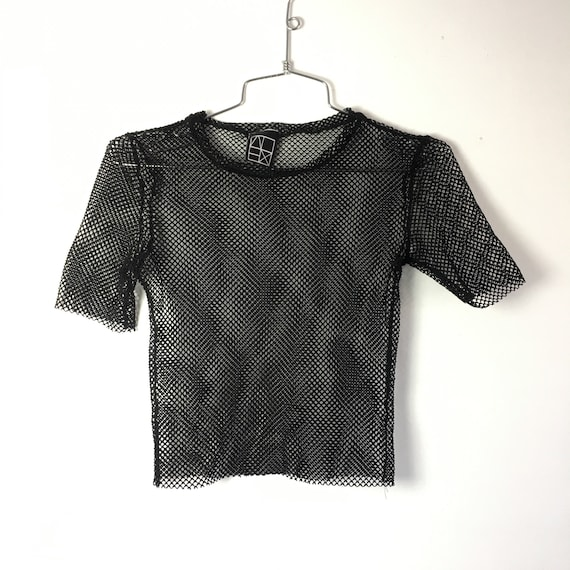 Mesh Athletic Punk Tee - Small