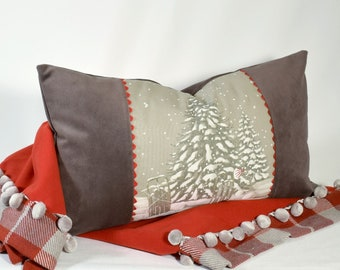 a055bf0a37a4 Pillow The First Snow 24