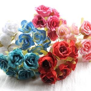 Wedding Flowers TURQUOISE Artificial Hydrangea Head- Artificial Flowers Scrapbook Hair Accessory Silk Flowers Flower Crown Millinery