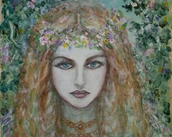 Freya, Norse Goddess print