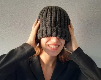 Wool hats handmade , winter hats women, women beanie hat