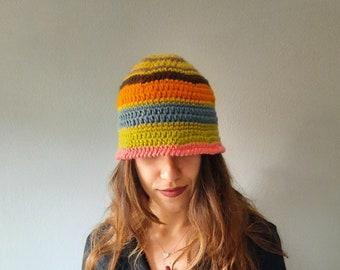 Wool hats handmade , winter hats women, women beanie hat, mountain hat women