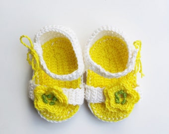 Sandals for girls, Girl shoes size 6 - 9, kids shoes girl, newborn sandals, baby sandals, crochet sandals, baby girl sandals