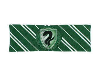 Green Serpent House Pride Workout Headband