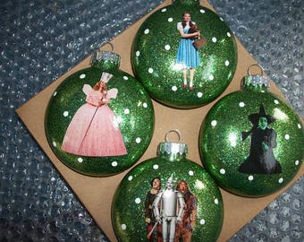 Wizard of oz ornaments | Etsy