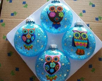 Ornaments - Owls
