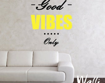 Wall quote decals for home decor, living room decor, wall art decals