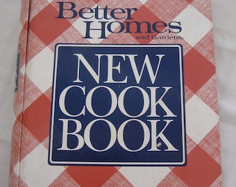 Better Homes and Gardens New Cook Book, 1989, Spiral Bound