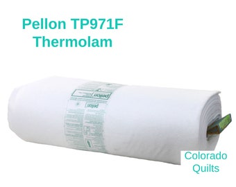 Pellon TP971F Fusible Batting By the Yard for Quilting Home Decorating Crafting Apparel Projects White Iron On