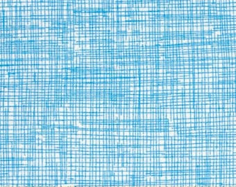 Fabric by the Yard Timeless Treasures Sketch Sky Cotton Quilting Fabric Tone on Tone Blender Baby Boy Nursery Crafting Home Decor
