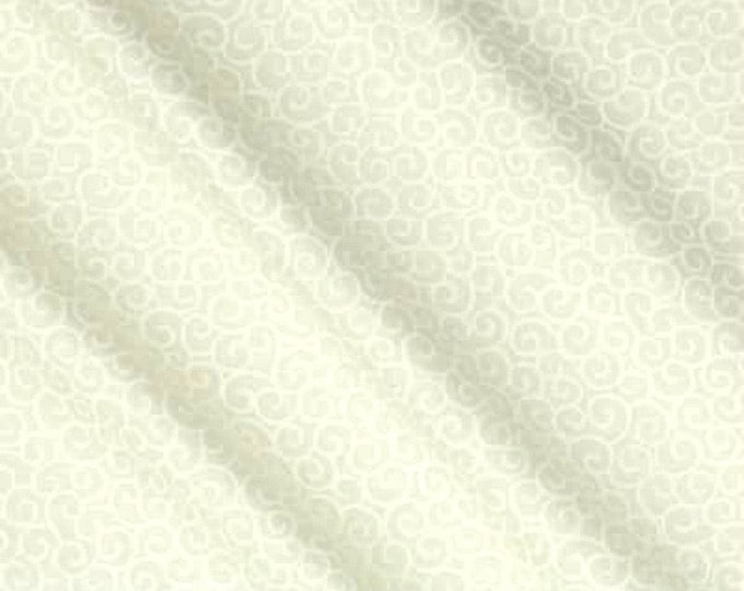 Fabric by the Yard Quilt Backing Fabric Wide Quilt Back Quilting Fabric Natural Cute Ivory Whimsical Christmas Sewing Nursery Cotton Fabric