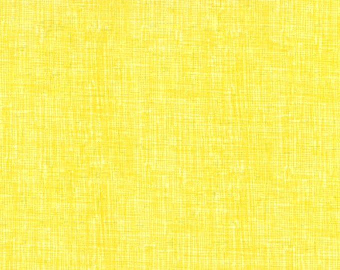Fabric by the Yard Timeless Treasures Sketch Sun Yellow Solid Color Cotton Quilting Fabric Tone on Tone Blender Sewing Apparel