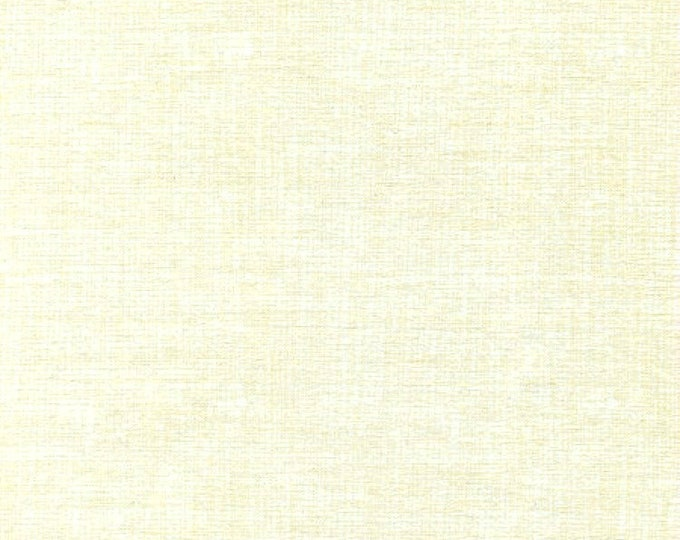 Fabric by the Yard Timeless Treasures Sketch Fun Ivory Cotton Quilting Fabric Natural Tone on Tone Blender Crafting Home Decor