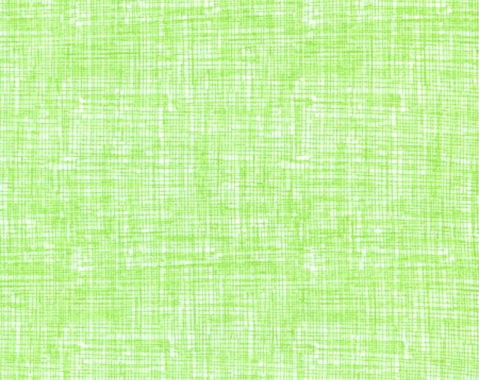 Fabric by the Yard Timeless Treasures Sketch Lime Green Solid Color Fabric Cotton Quilting Fabric Tone on Tone Blender Home Decor Apparel