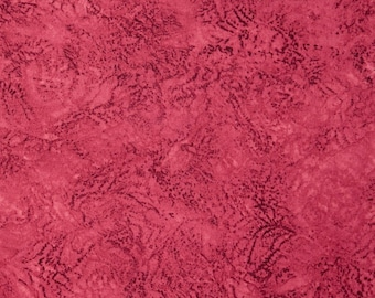 Fabric by the Yard RJR Fabrics Jinny Beyer Palette Sunset Red Dark Pink Ruby Rose Cotton Quilting Fabric Home Decor Apparel