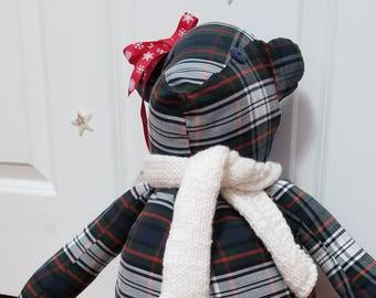 Custom Memory Uniform Teddy Bear - Embroidery