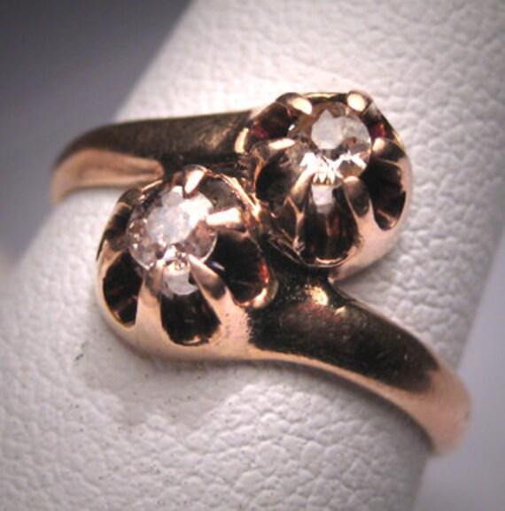 Antique Wedding Ring Mine Cut Diamond Ring Georgia