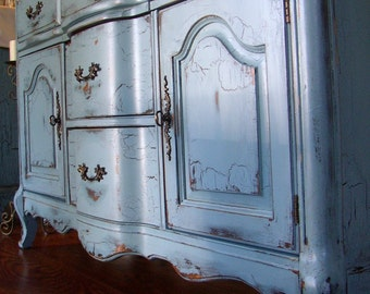 French Country Blue Etsy