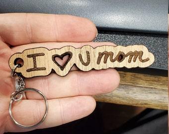 Mothers Day - Handwritten keychain